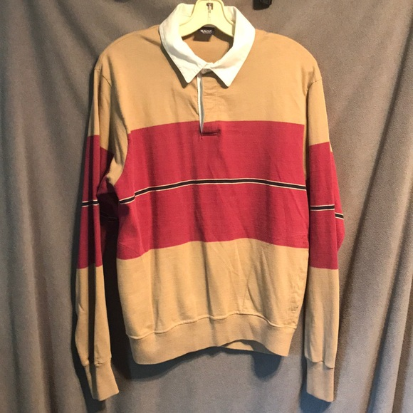 f737dd1e61 Gant Shirts | Rugger Usa Made Rugby Pullover Vintage Used | Poshmark